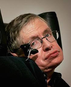 """FILE - Stephen Hawking...LONDON - (FILE) Professor Stephen Hawking delivers his speech at the release of the 'Bulletin of the Atomic Scientists' on January 17, 2007 in London, England. According to Cambridge University, April 20, 2009 the 67-year-old physicist is """"very ill"""" in hospital. (Photo by Bruno Vincent/Getty Images)"""